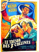 Gold of the Seven Saints - French Movie Poster (xs thumbnail)