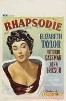 Rhapsody - Belgian Movie Poster (xs thumbnail)