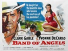 Band of Angels - British Movie Poster (xs thumbnail)