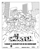 The Smurfs - Dutch Movie Poster (xs thumbnail)