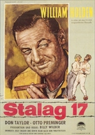 Stalag 17 - German Movie Poster (xs thumbnail)