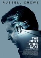 The Next Three Days - Danish Movie Poster (xs thumbnail)