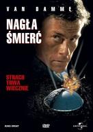 Sudden Death - Polish Movie Cover (xs thumbnail)
