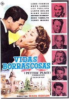 Peyton Place - Spanish Movie Poster (xs thumbnail)