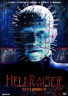 Hellraiser: Hellworld - DVD cover (xs thumbnail)