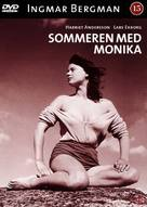 Sommaren med Monika - Danish DVD movie cover (xs thumbnail)