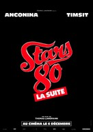 Stars 80, la suite - French Movie Poster (xs thumbnail)