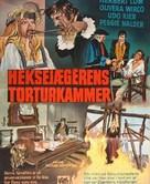 Hexen bis aufs Blut gequält - Danish Movie Poster (xs thumbnail)