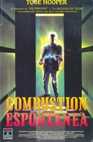 Spontaneous Combustion - Spanish VHS cover (xs thumbnail)