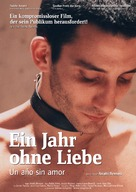 Un año sin amor - German Movie Poster (xs thumbnail)