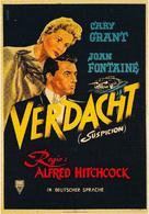 Suspicion - German Movie Poster (xs thumbnail)