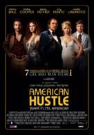 American Hustle - Romanian Movie Poster (xs thumbnail)