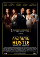 American Hustle - Romanian Movie Poster (xs thumbnail)