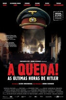 Der Untergang - Brazilian Movie Poster (xs thumbnail)