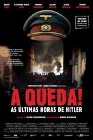 Der Untergang - Brazilian Movie Poster (xs thumbnail)