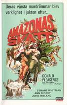 The Treasure of the Amazon - Swedish Movie Cover (xs thumbnail)