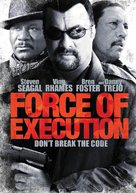 Force of Execution - DVD cover (xs thumbnail)