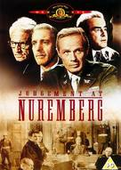 Judgment at Nuremberg - British DVD cover (xs thumbnail)