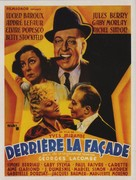 Derrière la façade - French Movie Poster (xs thumbnail)