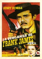 The Return of Frank James - Spanish Movie Poster (xs thumbnail)