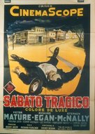 Violent Saturday - Italian Movie Poster (xs thumbnail)