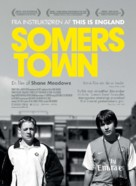 Somers Town - Danish Movie Poster (xs thumbnail)