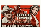 The Storm Rider - Belgian Movie Poster (xs thumbnail)