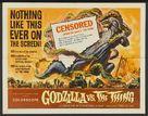 Mosura tai Gojira - British Movie Poster (xs thumbnail)