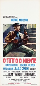 O tutto o niente - Italian Movie Poster (xs thumbnail)