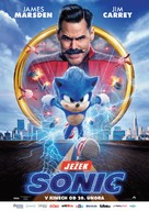 Sonic the Hedgehog - Czech Movie Poster (xs thumbnail)