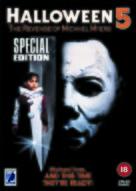 Halloween 5 - British DVD movie cover (xs thumbnail)