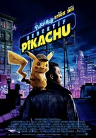 Pokémon: Detective Pikachu - Turkish Movie Poster (xs thumbnail)