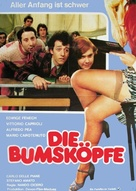 L'insegnante - German Movie Poster (xs thumbnail)