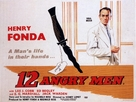 12 Angry Men - British Movie Poster (xs thumbnail)