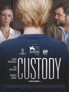 Jusqu'à la garde - French Movie Poster (xs thumbnail)