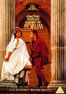 A Funny Thing Happened on the Way to the Forum - British DVD movie cover (xs thumbnail)