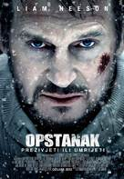 The Grey - Croatian Movie Poster (xs thumbnail)