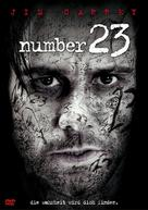 The Number 23 - German DVD movie cover (xs thumbnail)