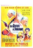 Du rififi à Paname - Belgian Movie Poster (xs thumbnail)