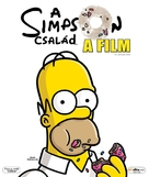 The Simpsons Movie - Hungarian Movie Cover (xs thumbnail)