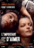 L'important c'est d'aimer - French Movie Poster (xs thumbnail)