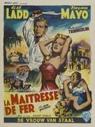 The Iron Mistress - Belgian Movie Poster (xs thumbnail)