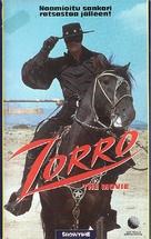 """Zorro"" - Finnish VHS movie cover (xs thumbnail)"