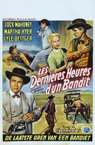 Showdown at Abilene - Belgian Movie Poster (xs thumbnail)