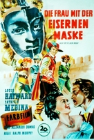 Lady in the Iron Mask - German Movie Poster (xs thumbnail)