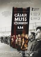 Cesare deve morire - German Movie Poster (xs thumbnail)