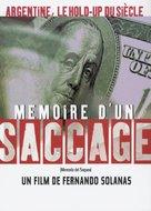 Memoria del saqueo - French poster (xs thumbnail)
