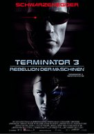Terminator 3: Rise of the Machines - German Movie Poster (xs thumbnail)