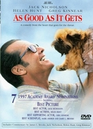As Good As It Gets - DVD cover (xs thumbnail)