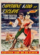 Captain Kidd and the Slave Girl - Belgian Movie Poster (xs thumbnail)